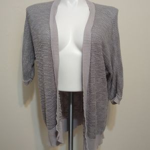 Mossimo Gray Chunky Knit Cardigan